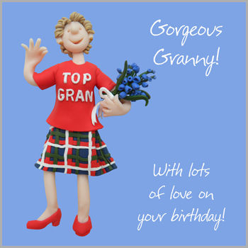 Gorgeous,Granny,Birthday,Card,buy granny birthday card online, buy birthday cards for grannies online, buy gran birthday cards online, birthday cards for grandparents
