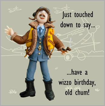 Old,Chum,Wizzo,Birthday,Card,buy birthday cards online, buy birthday card for him online, male birthday card, birthday cards for men, funny birthday card, pilot brithday card, old chum birthday card, wizzo birthday card, aeroplane birthday card, airplane card, plane card, flying birt