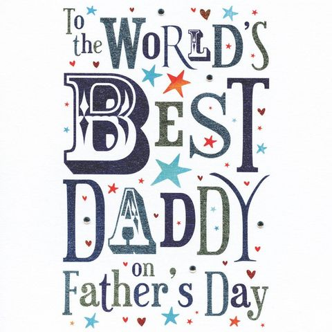 World's,Best,Daddy,Father's,Day,Card,buy daddy father's day card online, father's day card, fathers day card, worlds best daddy card, world's best daddy card, best daddy card for fathers day, cards for daddies, daddy cards, cards for daddy, worlds best dad