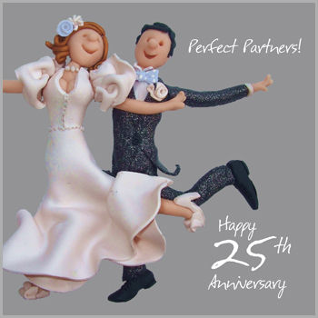 Silver,25th,Wedding,Anniversary,Card,buy silver wedding anniversary card online, 25th wedding anniversary card, cards for wedding anniversaries, twenty-fifth anniversary card, silver wedding card