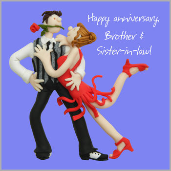 Brother,and,Sister-In-Law,Anniversary,Card,buy brother and sister in law anniversary card, brother and sister-in-law anniversary cards, anniversary cards for brothers, brother and wife anniversary card