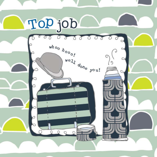 Top Job Congratulations Card - product images  of