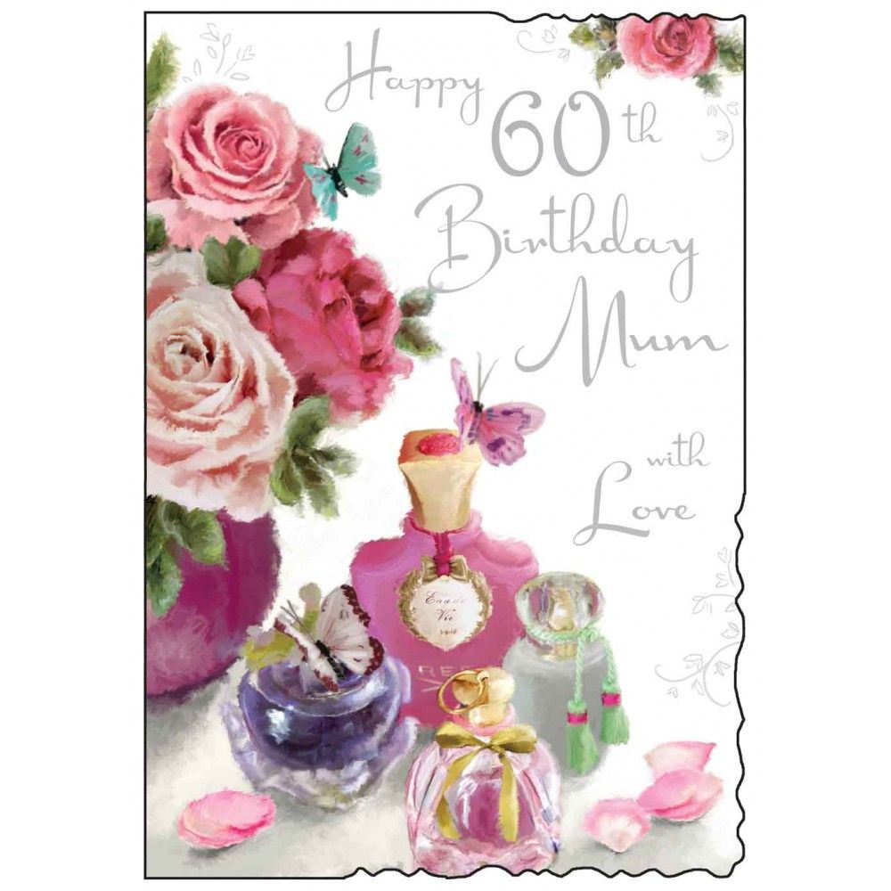 Mum 60th Birthday Card