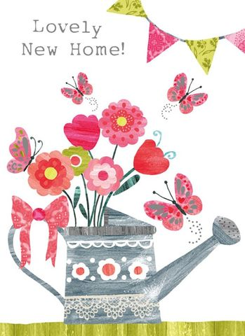 Watering,Can,and,Flowers,New,Home,Card,buy floral lovely new home card online, buy new home cards with flowers online, buy new home card online, buy card for new home online, new house card, good luck in your new house card, lovely new home card, congratulations new home card, watering can, fl