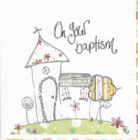Hand,Finished,Baptism,Card,buy baptism card online, cards for baptisms, on your baptism card, card for baptism, baptism day card