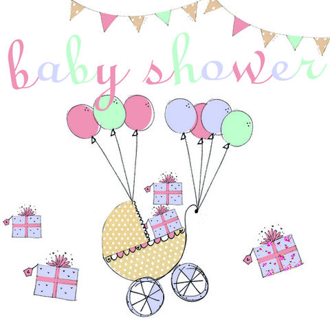 Handmade,Pram,and,Balloons,Baby,Shower,Card,buy cards for baby shower online, buy mum to be card online, buy baby shower card online, card for baby shower, stork card, mum to be card, parents to be card, mum-to-be, parents-to-be, baby shower