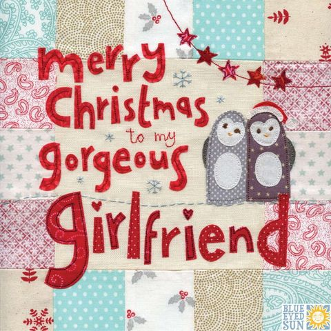 To,My,Gorgeous,Girlfriend,Christmas,Card,-,Large,,luxury,buy large christmas cards online, large christmas cards for girlfriends, girlfriend luxury christmas card, card to the one i love, christmas cards for girlfriends, girl-friend xmas card,