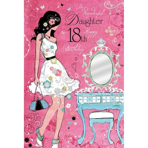 Wonderful,Daughter,18th,Birthday,Card,buy daughter 18th birthday card online, buy 18th birthday cards for daughters online, card for 18th, eighteenth birthday card, age eighteen card, age 18 card, 18th birthday cards for daughters, daughter eighteenth birthday card, age 18 daughter card