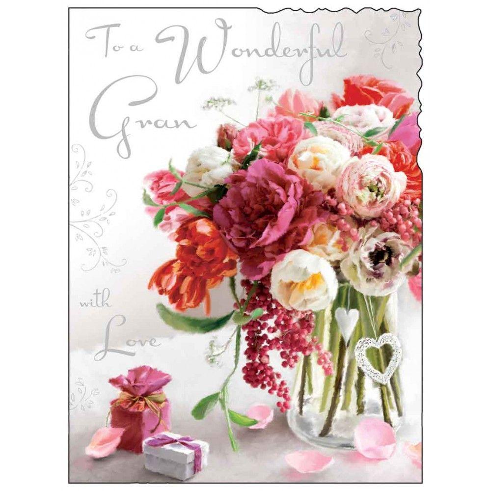 Wonderful gran birthday card karenza paperie wonderful gran birthday card izmirmasajfo
