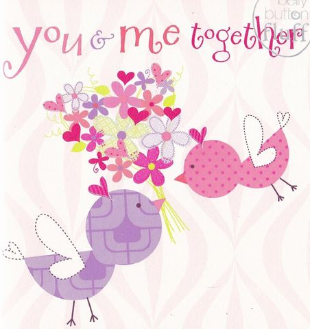 You,and,Me,Together,Valentine's,Day,Card,buy you and me together forever card, buy you and me valentines day card online, cards for valentines, buy you and me card, card for the one i love, to the one i love card, lovebirds card,