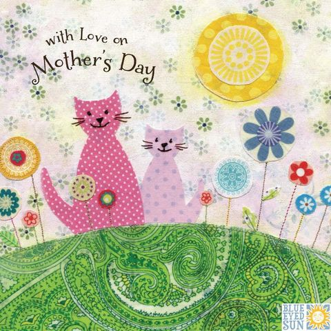 Cats,Mother's,Day,Card,buy cats mothers day card online, buy lovely mum mothering sunday card online, mothers day cards with cats, flowers happy mothers day card, cat card, kitten cards, lovely mum mothers day card, mothering sunday card for mum, cards for mums, mothers day car