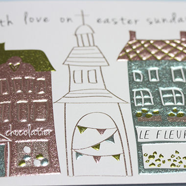Church With Love On Easter Sunday Card - product images  of