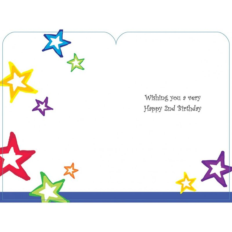 Happy Birthday 2 Today Boys Birthday Card - product images  of