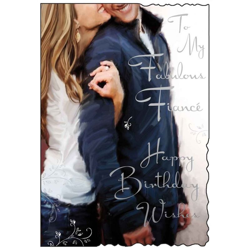 To My Fabulous Fiancé Birthday Card - product images  of