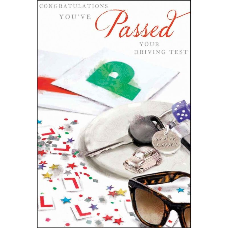You've Passed Your Driving Test Congratulations Card - product images  of