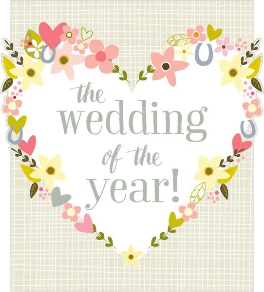 The Wedding Of The Year Wedding Day Card - product images