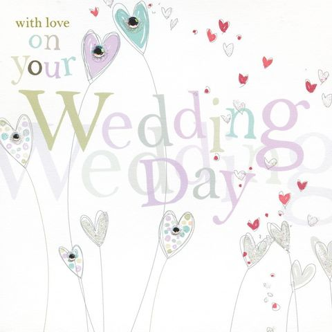 Hand,Finished,Hearts,Wedding,Day,Card,buy wedding card online, buy heart wedding day cards online, cards for bride and groom, mr and mrs wedding day card,card for wedding, wedding cards, cards for weddings, wedding day card, card for wedding day, mr and mr wedding card, mrs and mrs wedding ca