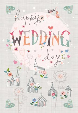 Happy,Wedding,Day,Card,-,Large,buy wedding day cards online, buy large wedding cards online, buy happily ever after wedding card, buy cards for weddings online, special couple wedding day card, mr and mrs card, mr and mr happily ever after card, mrs and mrs wedding card, civil partners