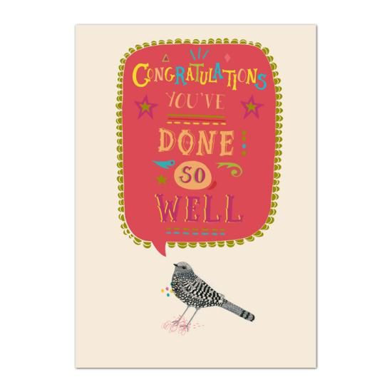 Congratulations You've Done So Well Card  - product images  of
