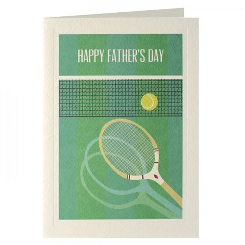 Tennis,Father's,Day,Card,buy dad father's day cards online, buy fathers day cards online, wimbledon father's day card, dad cards for fathers day, wonderful dad card, tennis father's day cards