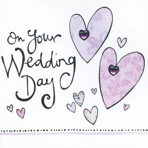 Hand,Finished,On,Your,Wedding,Day,Card,buy wedding card online, card for wedding, wedding cards, cards for weddings, wedding day card, card for wedding day, handmade card, hand finished card, heart card, mr and mr wedding card, mrs and mrs wedding day card, happy couple card, bride and groom w