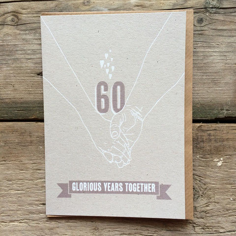 Diamond,Wedding,Anniversary,Card,-,60,Glorious,Years,Together,buy diamond wedding anniversary cards online, buy 60th wedding anniversary cards online, buy cards for wedding anniversaries, thirtieth wedding anniversary card, card for thirtieth anniversary,