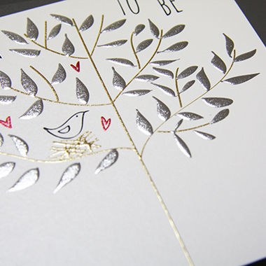 Bird and Nest Mum To Be Card - product images  of