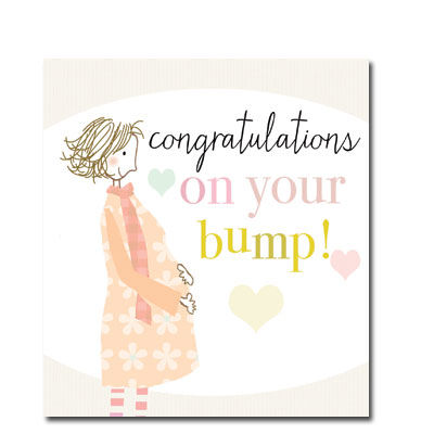 Congratulations On Your Bump Card - product images