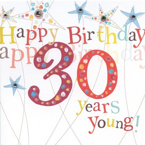 Hand,Finished,30th,Birthday,Card,buy 30th birthday card online, buy birthday cards for thirtieth online, card for 30th, 30th card, age 30 card, thirtieth card, thirtieth birthday card, age thirty card, birthday card for thirty, large 30th birthday card