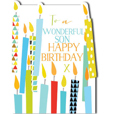 Candles,Wonderful,Son,Birthday,Card,buy birthday cards for sons online, buy son birthday card online, birthday cards for sons, cards for sons, son birthday cards, son card, birthday candles card for son, son birthday cards with candles, wonderful son card