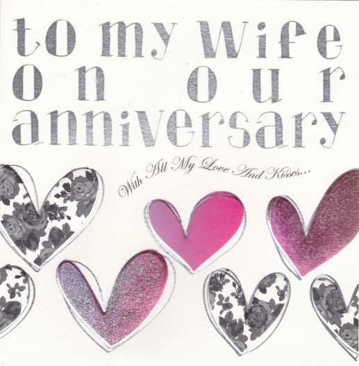 To My Wife On Our Anniversary Card - product images  of