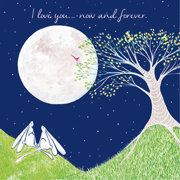I,Love,You,Now,And,Forever,Card,buy love cards online, buy i love you to the moon and back card, buy anniversary cards online, i love you now and forever card, love cards with rabbits, bunny rabbit love cards, bunnies i love you card