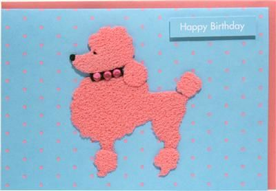 Pink,Poodle,Birthday,Card,buy dog greetings cards online, dog friends card, poodle birthday cards, poodle dog card, buy dog cards online, cards with dogs, dog birthday card, birthday cards with dogs,, lovely dog card, scottie dog card, scottish terrier birthday card