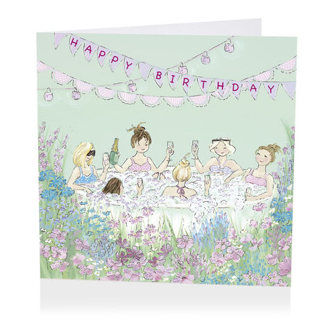 Jacuzzi,Party,Happy,Birthday,Card,buy female birthday cards online, buy birthday cards for her online, jacuzzi birthday cards, buy birthday cards online with hot tub, bubbly birthday cards, champagne birthday card, flowers birthday card, hot tub party birthday ard,