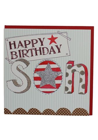 Star,Son,Birthday,Card,buy son birthday card online, buy birthday cards for sons online, son card, card for son, boys birthday card, star son birthday card, star cards for sons,