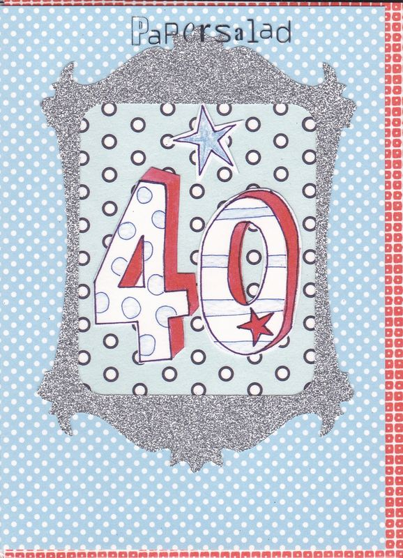 Dotty 40th Birthday Card - product images  of