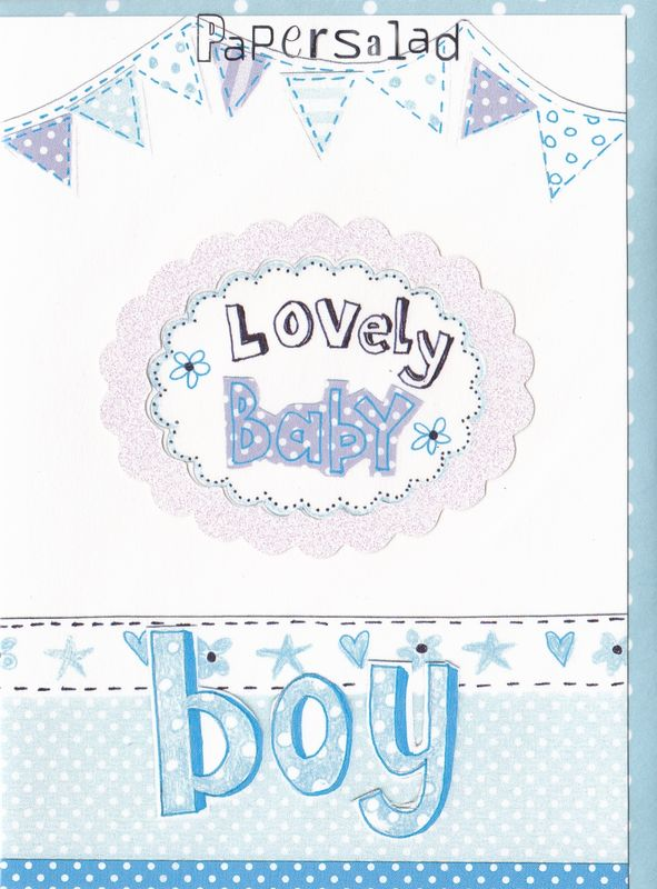 Lovely Baby Boy Card - product images