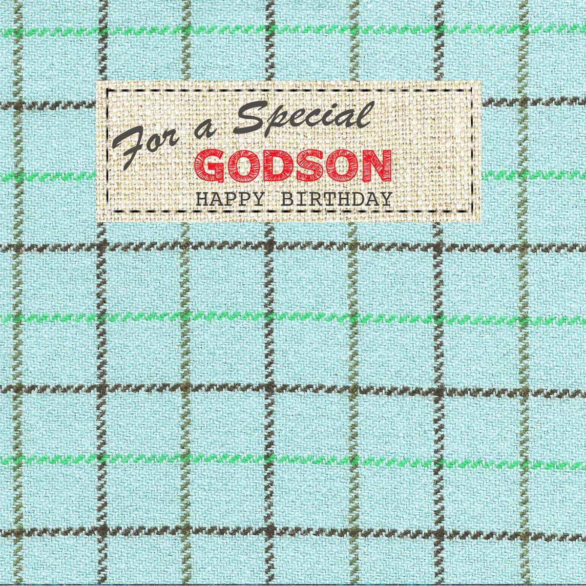 Hand Finished Special Godson Birthday Card Karenza Paperie