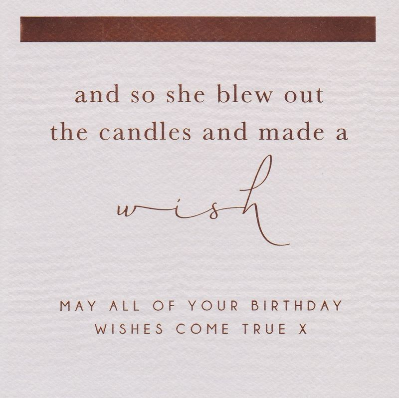 Make A Wish Birthday Card - product images  of