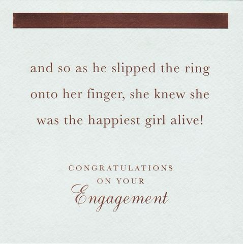 Happiest,Girl,Alive,Congratulations,On,Your,Engagement,Card,buy contemporary engagement cards online, buy cards for engagements online, engagement cards, congratulations on your engagement card, you are engaged card, congrats cards, congratulations card