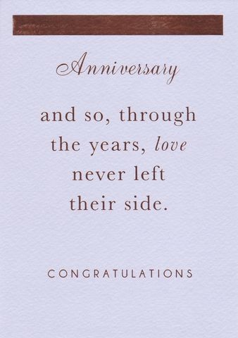 Love,Never,Left,Their,Side,Anniversary,Card,buy contemporary anniversary cards online, buy wedding anniversary cards online, buy cards for wedding anniversaries online, on your anniversary card, congratulations on your wedding anniversary card, love anniversary card, special couple wedding annivers