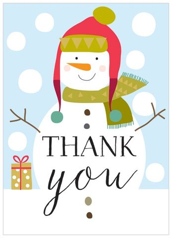 Christmas Thank You Cards from Karenza Paperie Collection ...