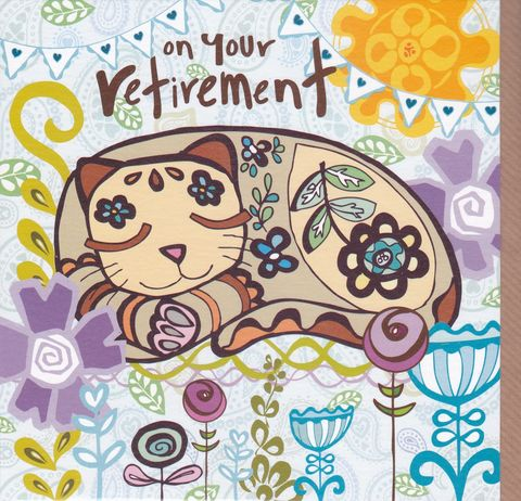 Cat,&,Flowers,On,Your,Retirement,Card,buy retirement card online, buy female retirement card online, buy cards for retirements online, flowers retirement card, buy cat retirement cards online, buy retirement cards with cards online,