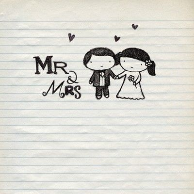 Mr and Mrs Wedding Card - product images  of
