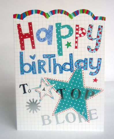 To,A,Top,Bloke,Birthday,Card,buy male birthday cards online, buy birthday cards for him online, buy mens birthday card online, buy man birthday card online, buy bloke birthday card onlines,