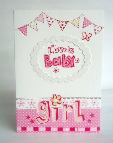 Lovely,Baby,Girl,Card,buy new baby cards online, buy new baby girl cards online, cards for new baby, new baby card, card for new baby girl, toys new baby cards, pink new baby cards