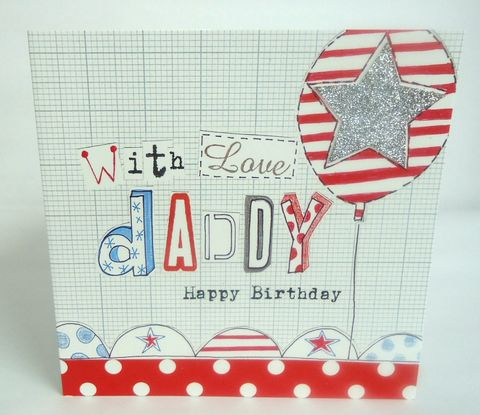 With,Love,Daddy,Birthday,Card,buy daddy birthday cards for her online, cards for daddies, daddy cards, best daddy card, special daddy card, with love daddy birthday card, daddy birthday card with stars, birthday balloon daddy birthday card
