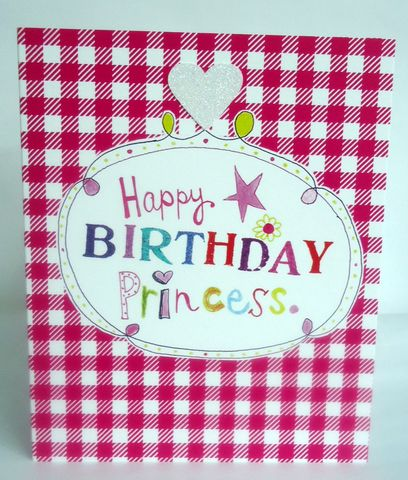 Happy,Birthday,Princess,Card,buy female birthday cards online, buy birthday cards for her online, buy princess birthday card online, birthday cards for princesses, little girl birthday card, pink princess card