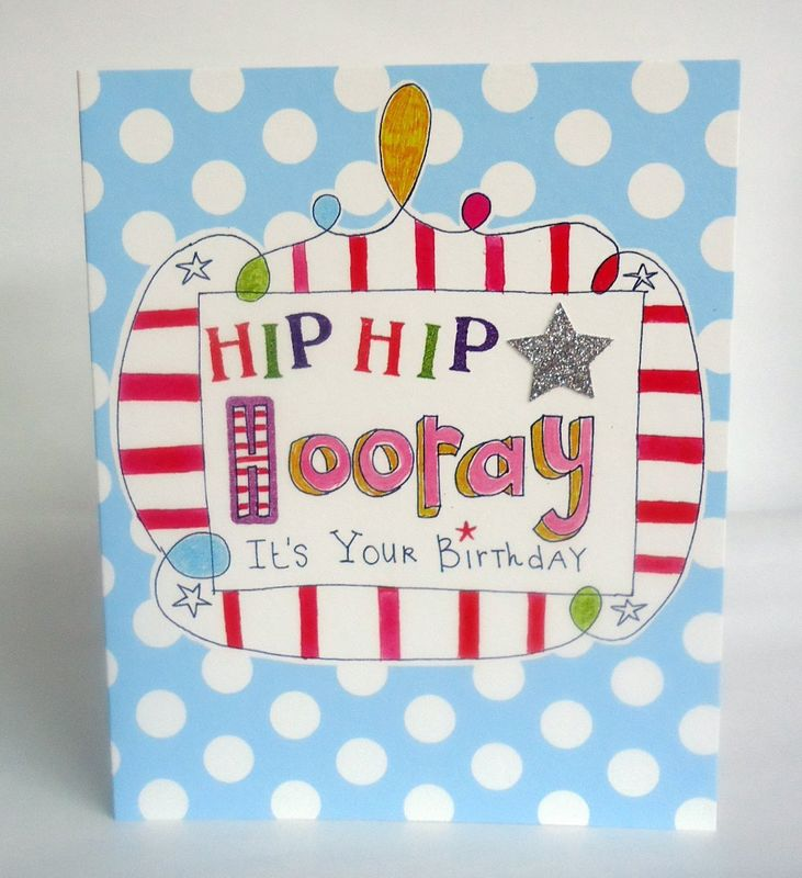 Hip Hip Hooray Birthday Card - product images  of