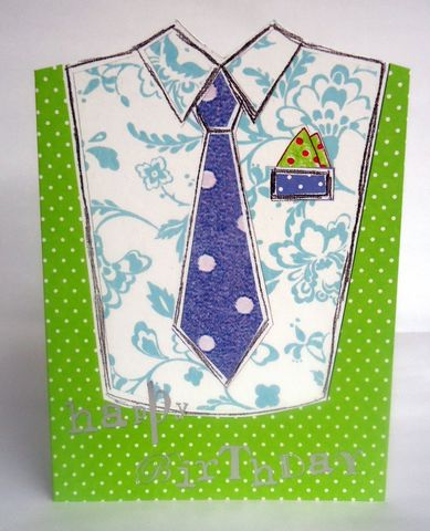 Tie,&,Shirt,Male,Birthday,Card,buy male birthday cards online, buy birthday cards for him online, buy mens birthday card online, buy man birthday card online, buy bloke birthday card onlines,